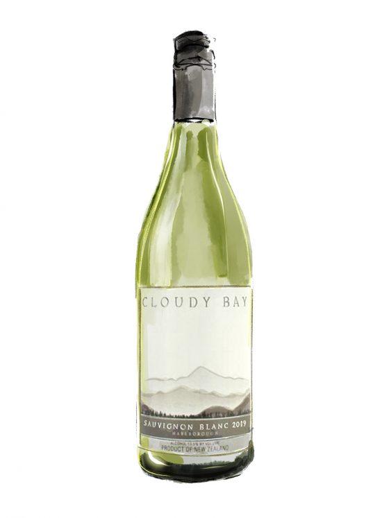 FINE WINES > WHITE > Cloudy Bay, Sauvignon Blanc | 2019 | Marlborough, New Zealand