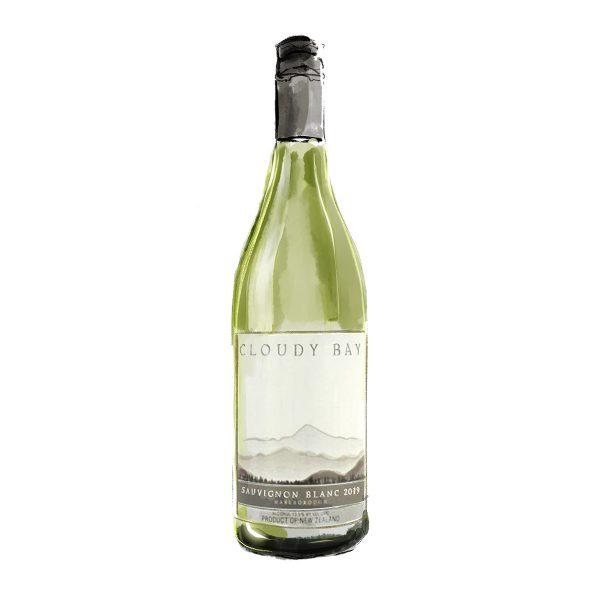 FINE WINES > WHITE > Cloudy Bay, Sauvignon Blanc   2019   Marlborough, New Zealand