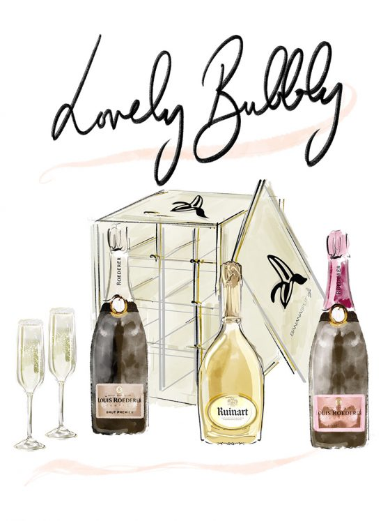 GIFT HAMPERS > Lovely Bubbly