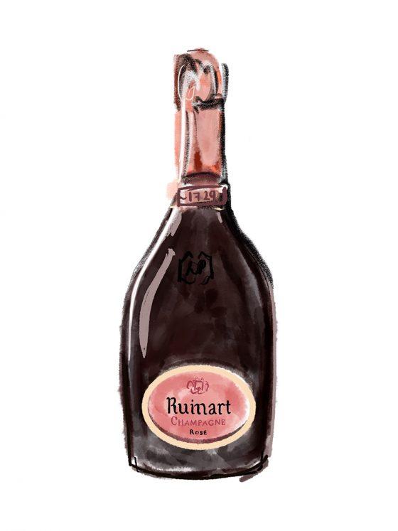 CHAMPAGNES > NON-VINTAGE > Ruinart Brut Rosé   NV   Champagne, France