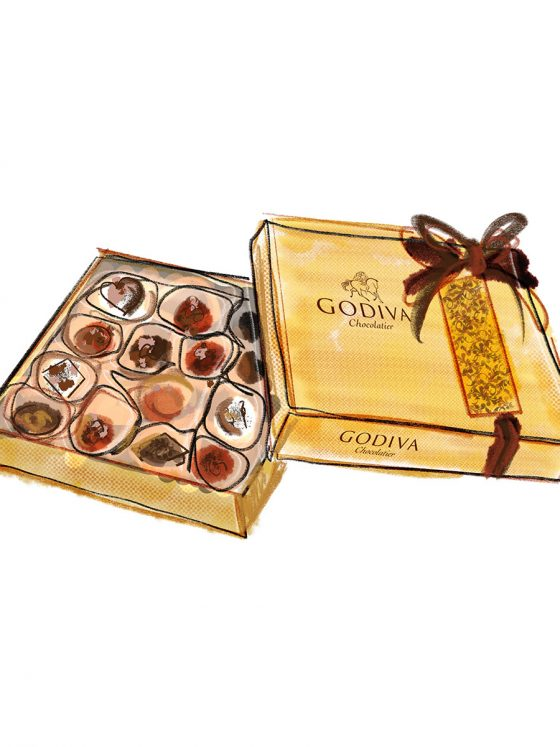 EPICERIE > CHOCOLATES > Godiva Chocolate