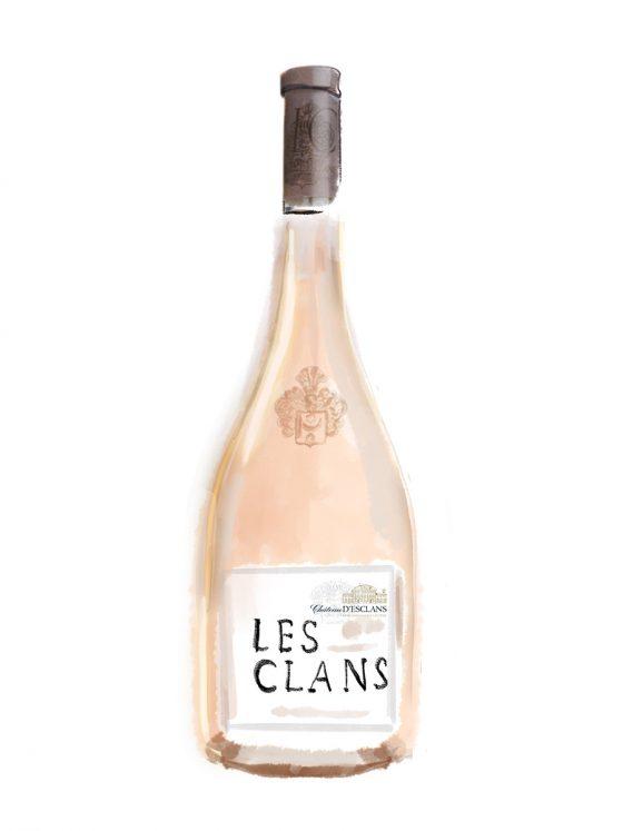 FINE WINES > ROSE > SOUTHERN FRANCE > Château d'Esclans Les Clans