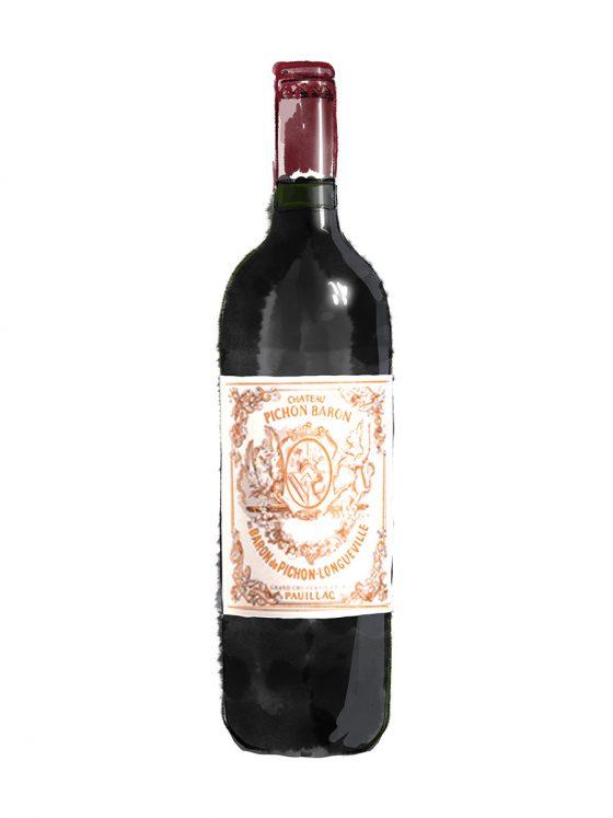FINE WINES > RED > BORDEAUX > Château Pichon Longueville Baron De Pichon-Longueville