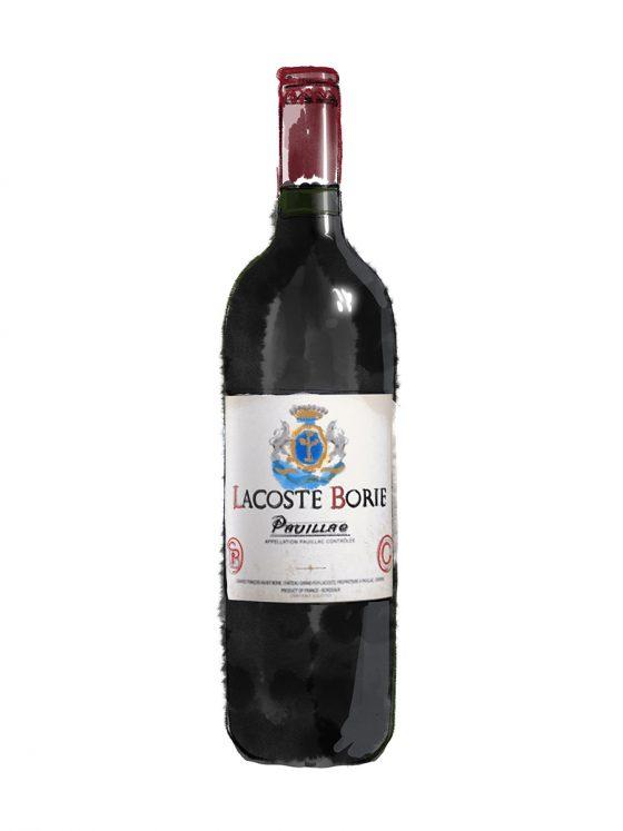 FINE WINES > RED > BORDEAUX > Lacoste Borie
