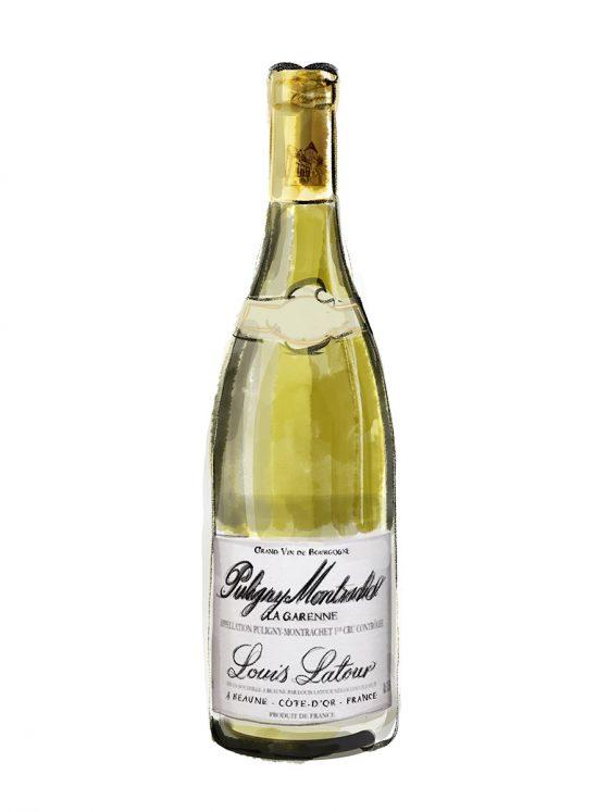 FINE WINES > WHITE > Louis Latour Puligny-Montrachet 1er Cru La Garenne   2017